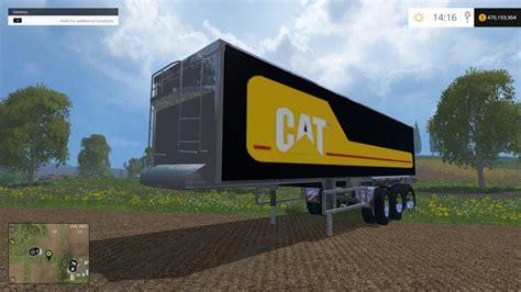 cat trailer cat trailer farming simulator 2017 mods farming