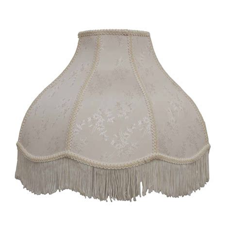 floor l with beaded shade essential home l shade jacquard fringe scalloped shop