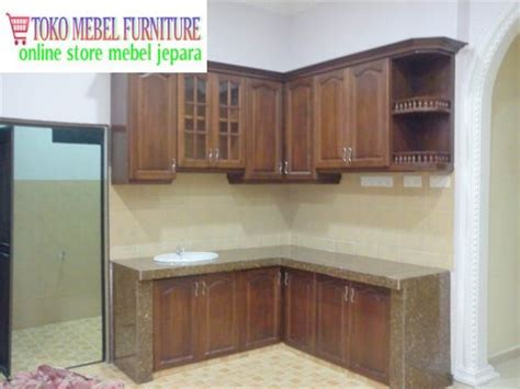 Lemari Jati Pasuruan kitchen set kayu jati toko mebel furniture
