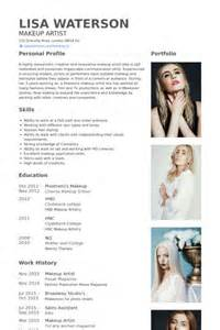 Makeup Artist Cover Letterresume For Makeup Artist Sample