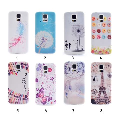 samsung galaxy s5 mini cases mobile fun limited cute butterfly flower design for s 5 mini g800 silicone