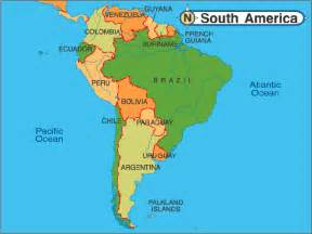 south america map detailed on line map of south america