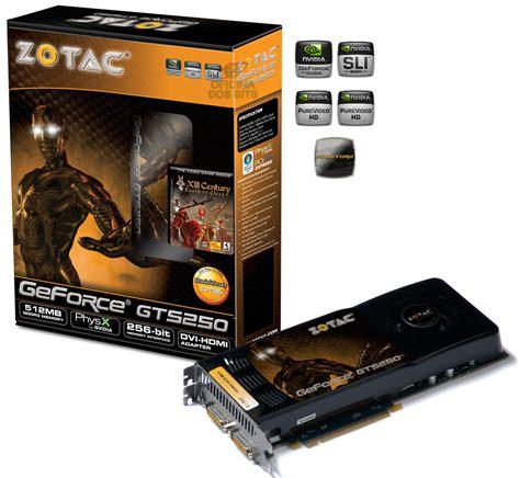Vga Xfx Gts 250 512mb 256bit oficina dos bits computadores de alta performance