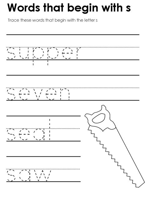 S Worksheet by Letter S Tracing Worksheets Quotes