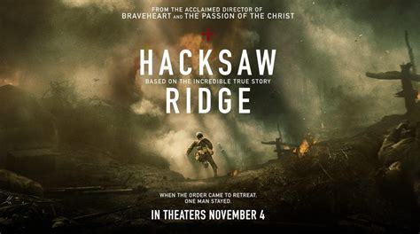 quot hacksaw ridge quot review by zachary marsh we live entertainment