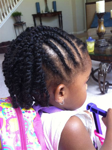 girl hairstyles with twists natural hairstyles for kids 19 easy to manage styles