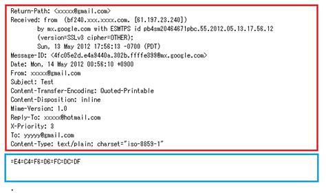 format email header understanding the insides of the pop3 mail protocol part