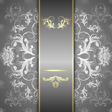 silver pattern website background silver pattern on a beautiful background stock vector