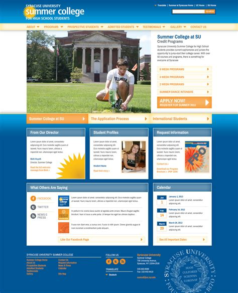 creating a webpage with twitter bootstrap edu kinect blog syracuse university summer college dkerr creative