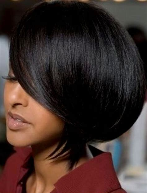 how to cut black hair in a bob 2018 short bob hairstyles for black women 26 excellent