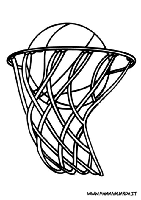 coloring pages netball sport da colorare