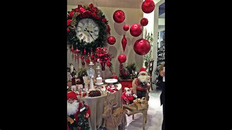 decoração arvore de natal vermelho e branco natal show 2015 decora 199 195 o natalina youtube