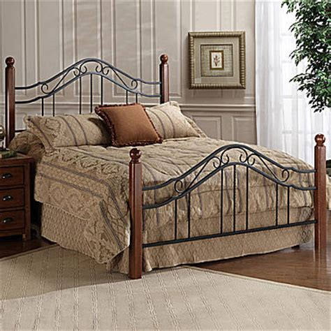 jc penny beds tatum metal bed or headboard jcpenney