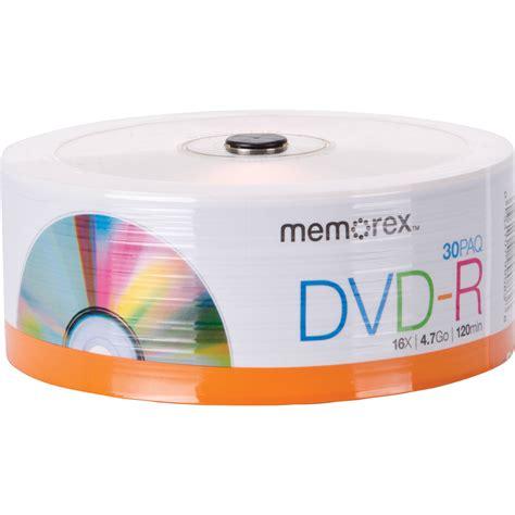 Memorex 4 7gb 16x Dvd R memorex dvd r 4 7gb 16x disc spindle pack of 30 32020030147