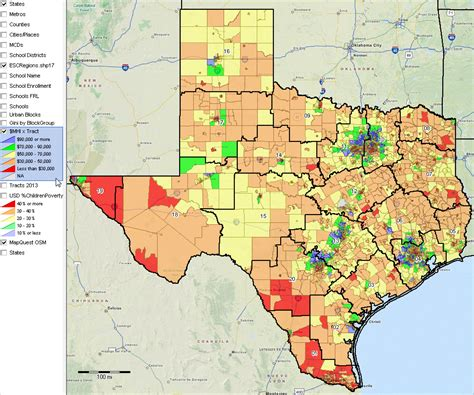 texas school region map texas school district map adriftskateshop