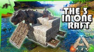 ark boat taming pen ark raft base download video youtube youtube hd