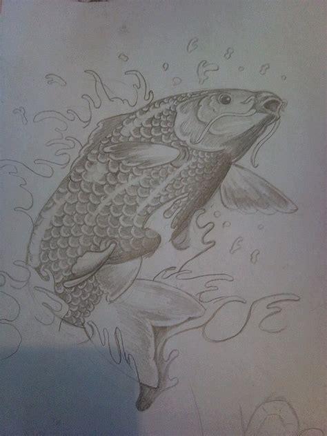 koi carp tattoo by killaduckeh on deviantart