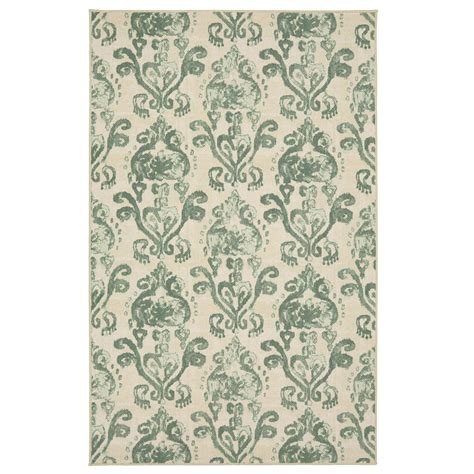 6 x 10 area rug mohawk home bali faded sky 7 ft 6 in x 10 ft area rug 003430 the home depot