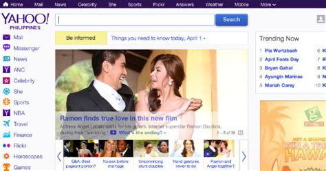 yahoo new layout 2014 yahoo philippines launches new homepage adobo magazine