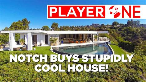 notchs house see how cool notch s new house is definitely cooler than your own youtube