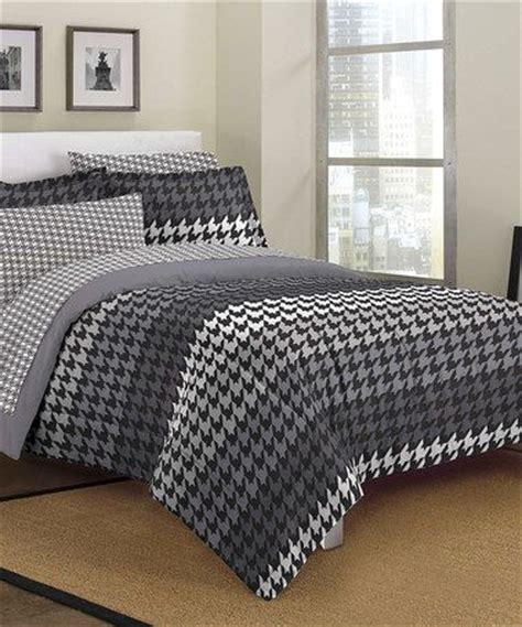 houndstooth bedding 1000 images about houndstooth a girl can never have too