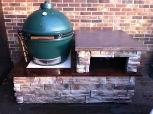Granite Top Kitchen Table - stone and concrete table big green egg egghead forum the ultimate cooking experience