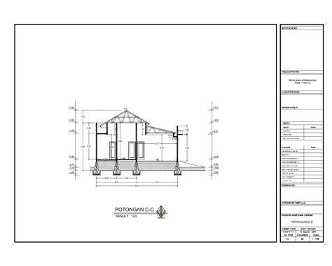 gambar kerja arsitektur jasa desain pusat pelatihan contoh gambar kerja arsitektur struktur dan elektrikal
