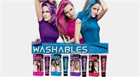 temporary hair color for temporary hair color products that wash out easy brush