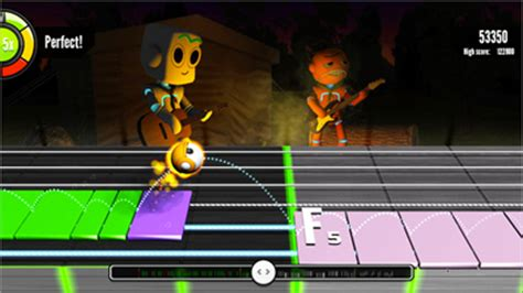 learn guitar game guitarbots learn guitar while playing an online game