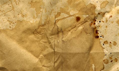 How To Make Coffee Stained Paper - 15 magnificent free paper bag textures to