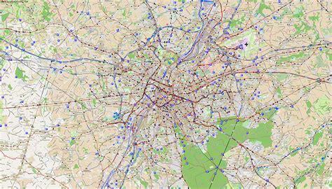 map brussels bruselas plan de la ciudad mapas imprimidos de
