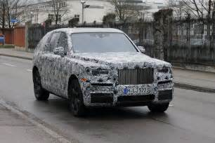 Rolls Royce Suv Upcoming Rolls Royce Suv Spotted In Germany I New Cars