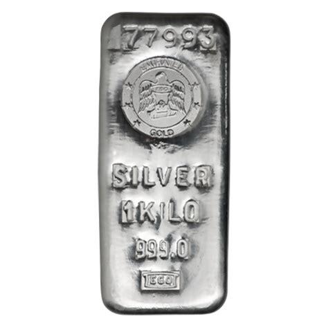 1 Kilo Silver Bar by 1 Kilo Emirates Silver Bar Lakeshore Trading