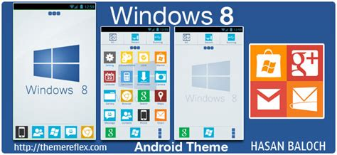 google themes for windows 8 windows 8 theme for samsung htc google and other android