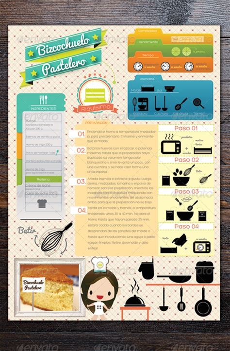 recipe infographics infographics recipe infographics download best gfx