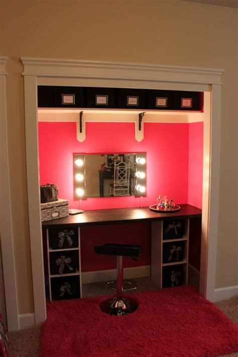 Closet Vanity by Vanity Closet Project And Quot How To Quot Kar Cave
