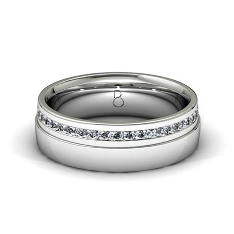 platinum 950 mens set wedding band 0 45ct