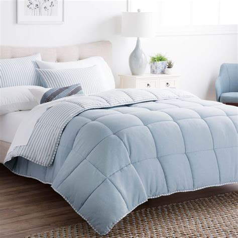 reversible queen comforter duck river esy pintuck reversible navy 8 piece queen