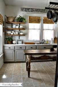 Old Farmhouse Kitchen Cabinets by Our Vintage Home Love Kitchen Updates