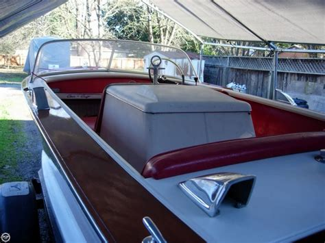 ski boat in spanish 1963 chris craft 17 power boat for sale in spanish flat ca