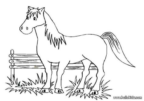 big coloring pages of horses big horse coloring pages hellokids com