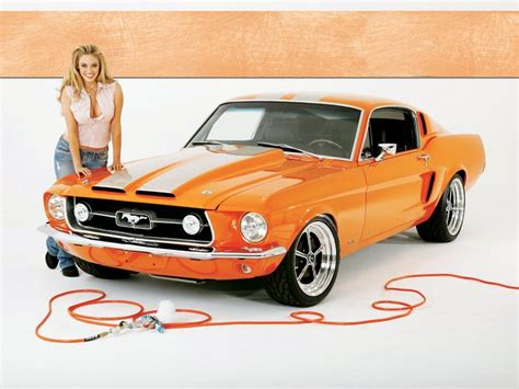 Nackt Auto by American Cars P 225 10 Mustang