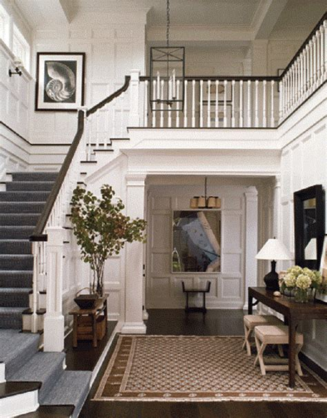 home entryway calling it home all white foyer