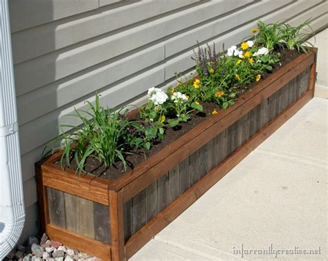 Flowers For Planter Boxes by Something Something New Planter Box Infarrantly