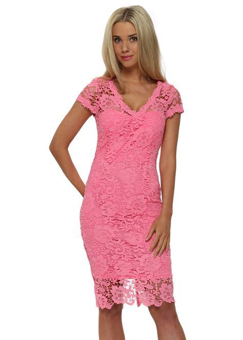 Crochet Pink Dress paper dolls lewis dress pink crochet lace dress