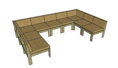 outdoor wood sofa plans outdoor sectional sofa plans myoutdoorplans free