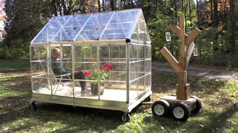 mobile greenhouse greenhouse on wheels