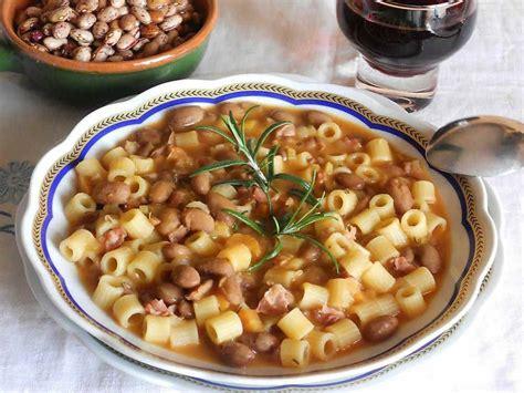 cucinare ricette pasta e fagioli cucinare it