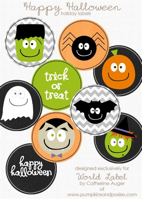 printable stickers for halloween halloween labels label templates and free printable