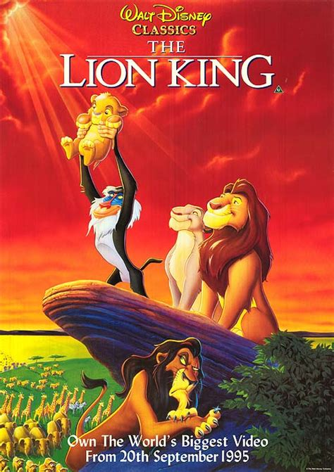 video film lion king lion king movie posters at movie poster warehouse